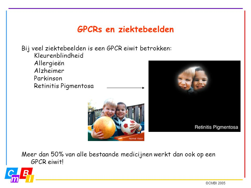 GPCRs en ziektebeelden