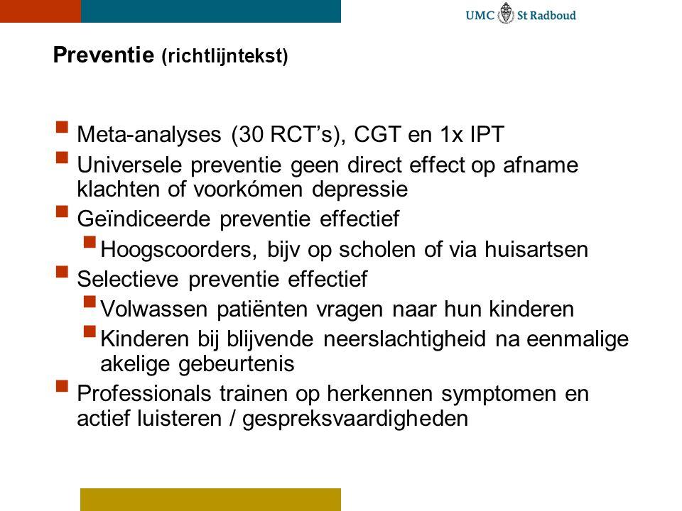 Preventie (richtlijntekst)