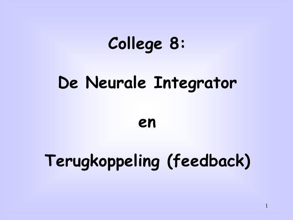 Terugkoppeling (feedback)