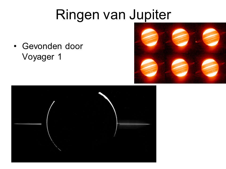 Ringen van Jupiter Gevonden door Voyager 1