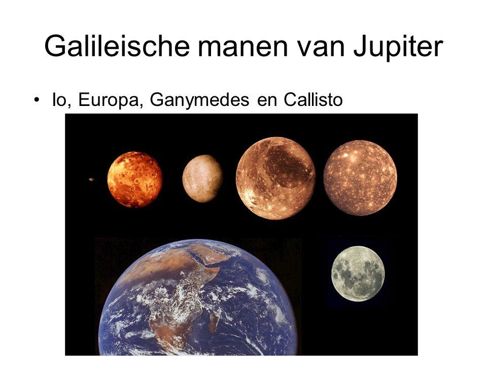 Galileische manen van Jupiter
