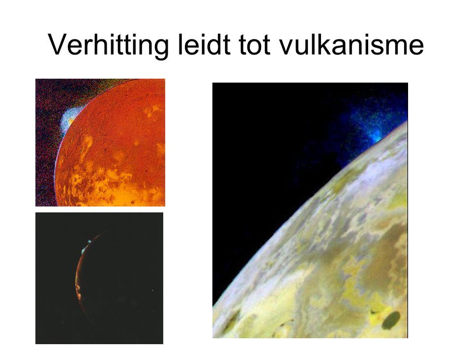 Verhitting leidt tot vulkanisme