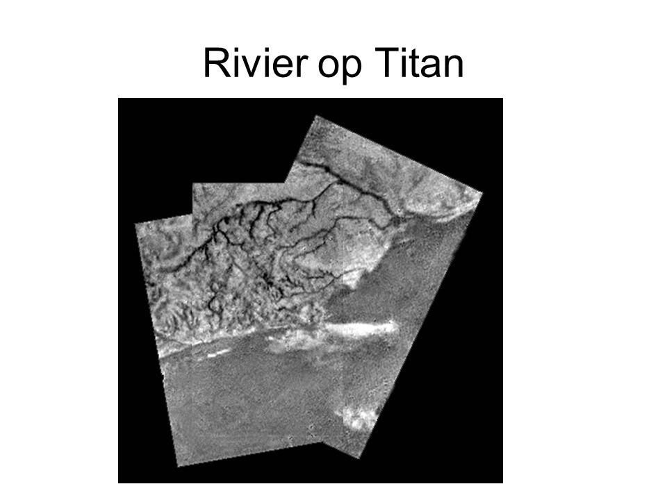 Rivier op Titan