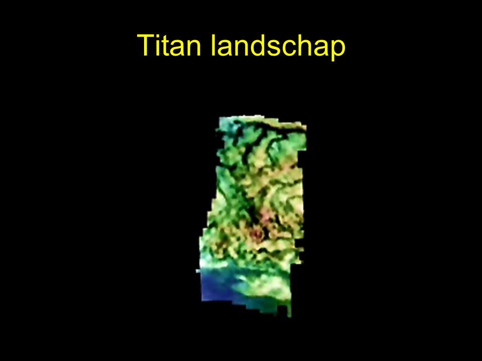 Titan landschap
