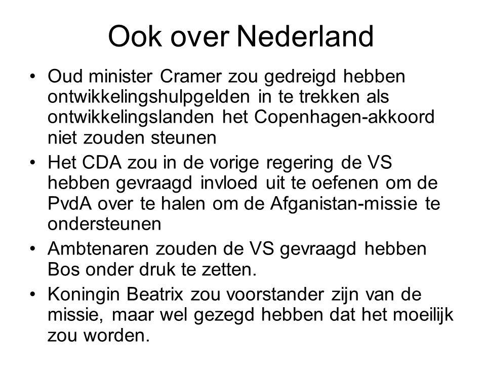 Ook over Nederland
