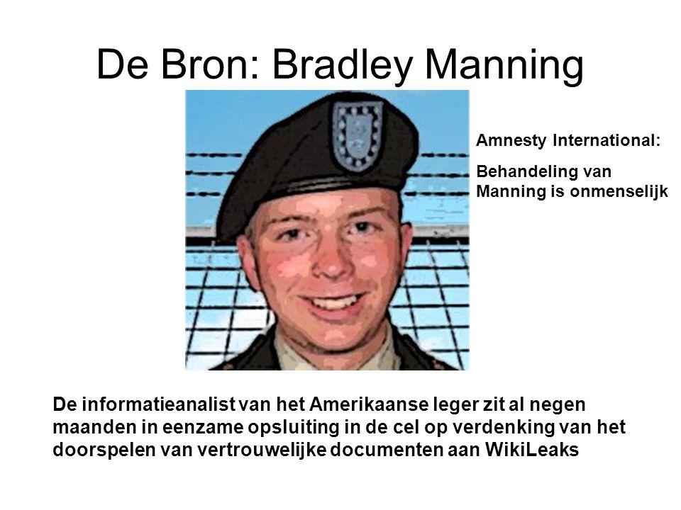 De Bron: Bradley Manning