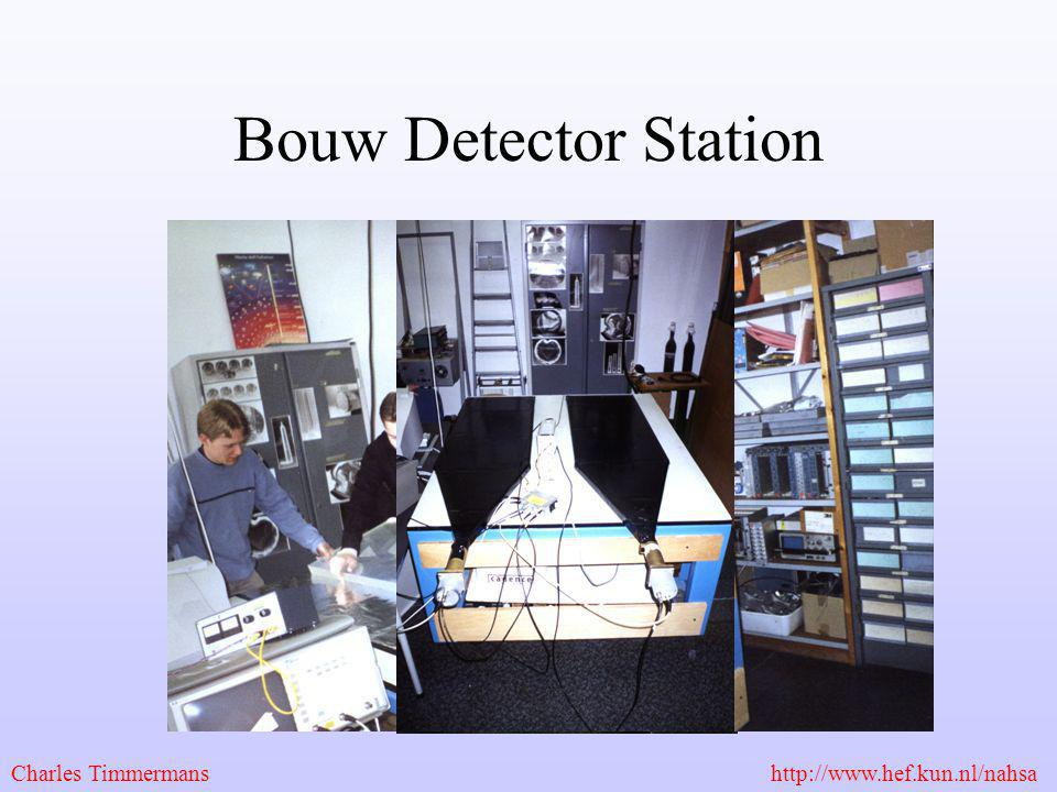Bouw Detector Station