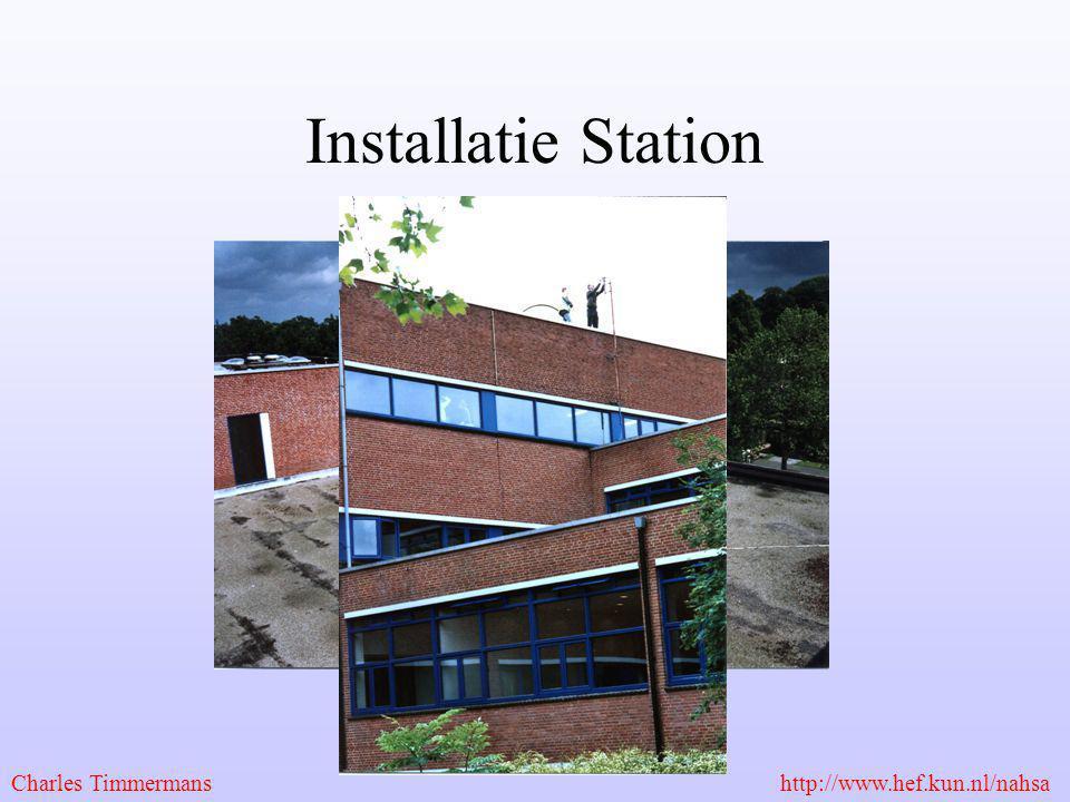 Installatie Station