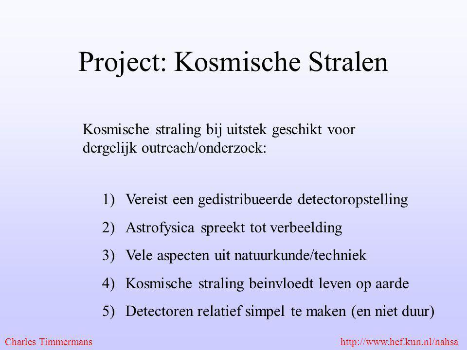 Project: Kosmische Stralen