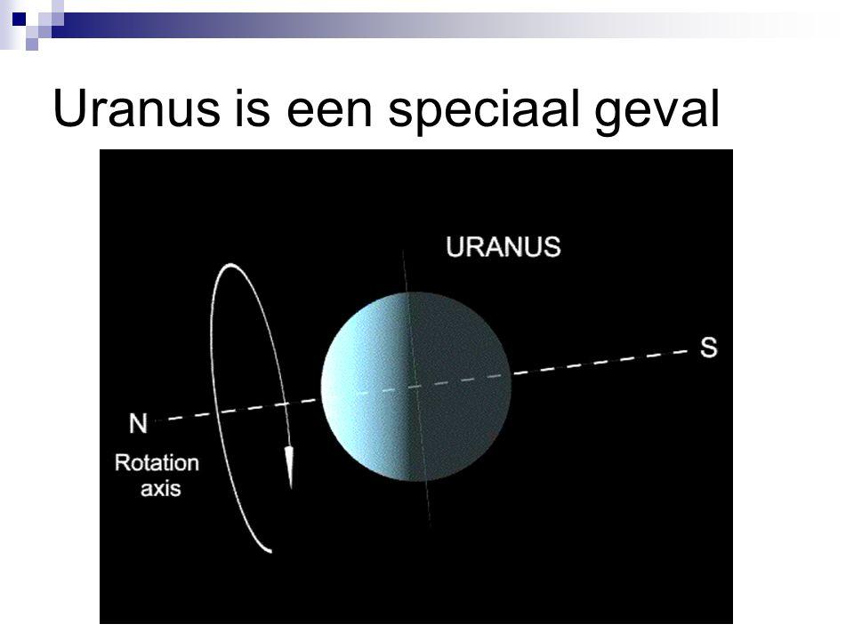 Uranus is een speciaal geval