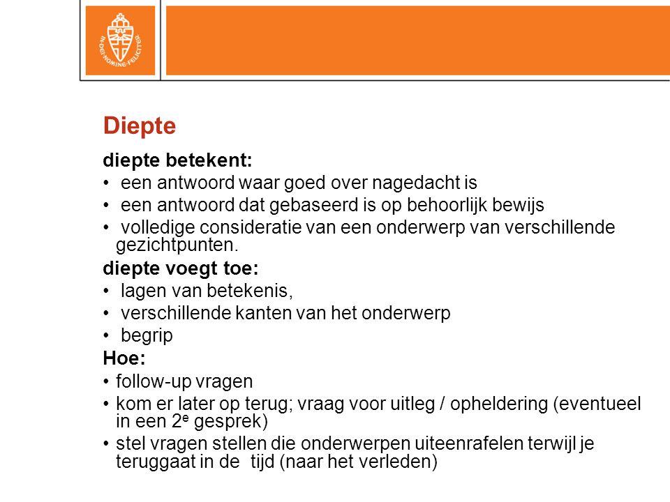 Diepte diepte betekent: diepte voegt toe: Hoe: