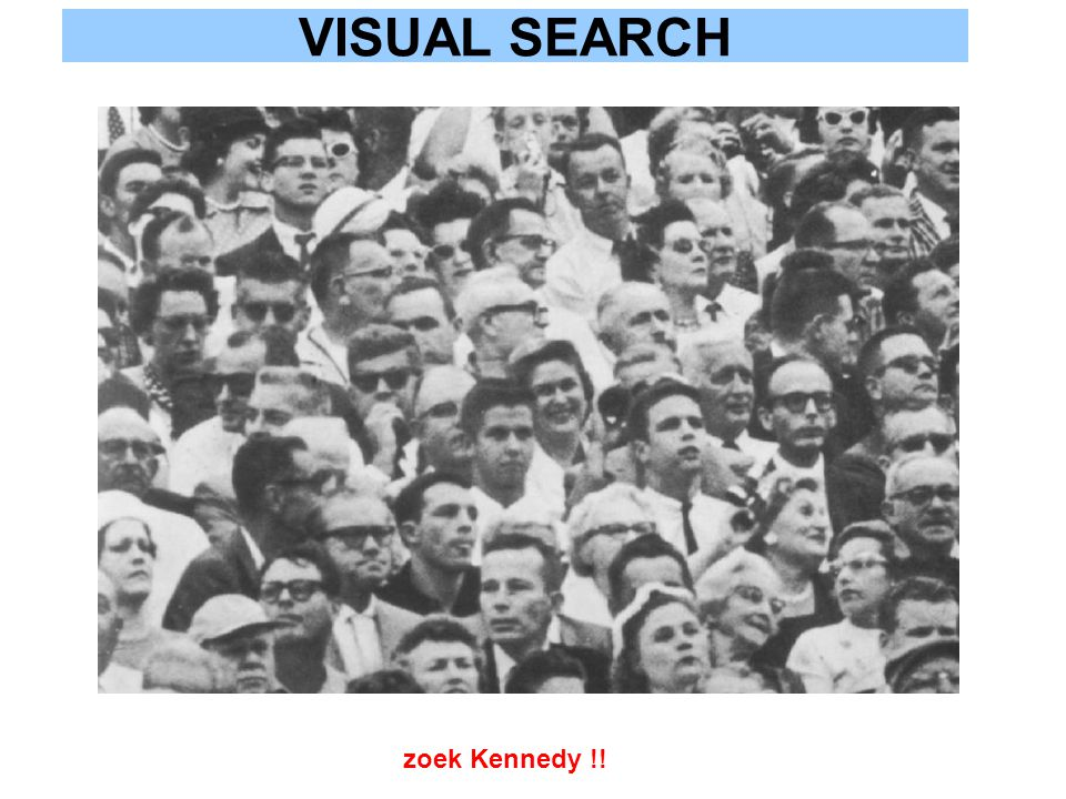 VISUAL SEARCH zoek Kennedy !!