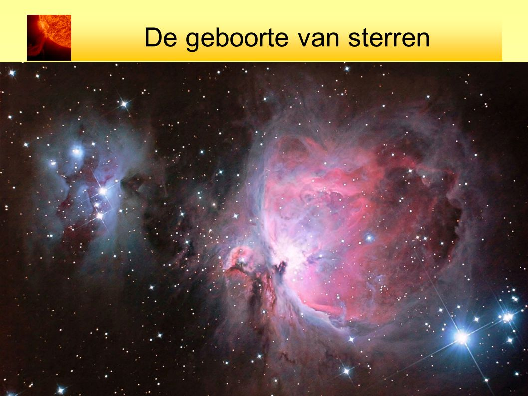 De geboorte van sterren