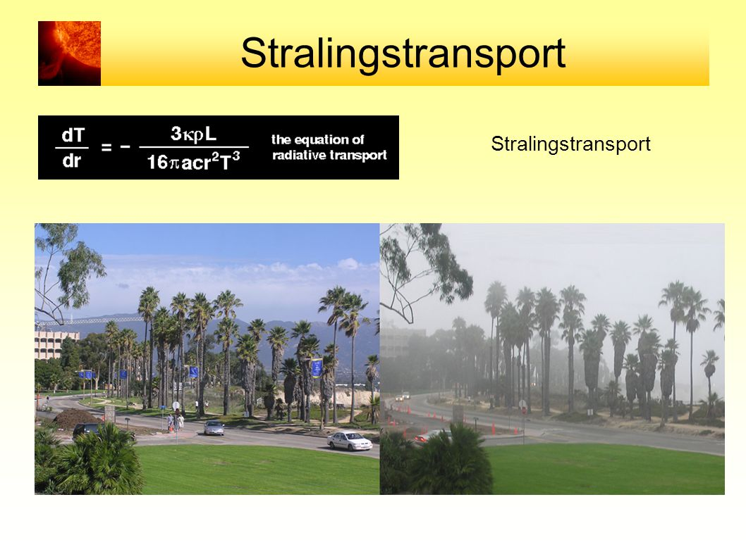 Stralingstransport Stralingstransport