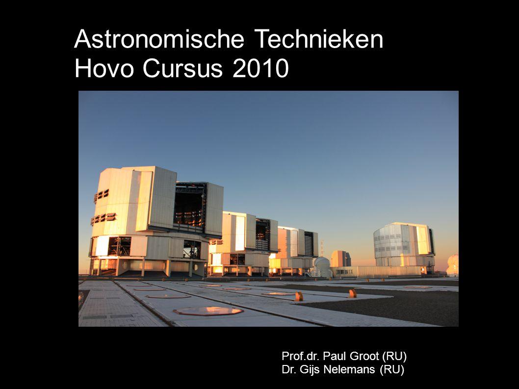 Astronomische Technieken Hovo Cursus 2010