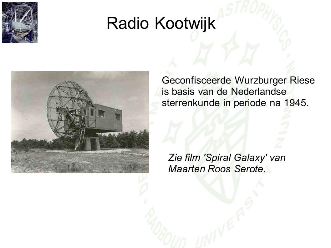 Radio Kootwijk Geconfisceerde Wurzburger Riese