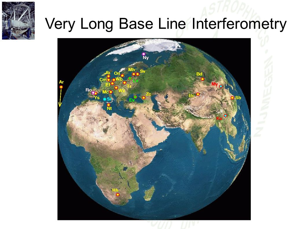Very Long Base Line Interferometry