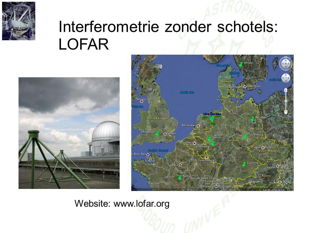 Interferometrie zonder schotels: LOFAR