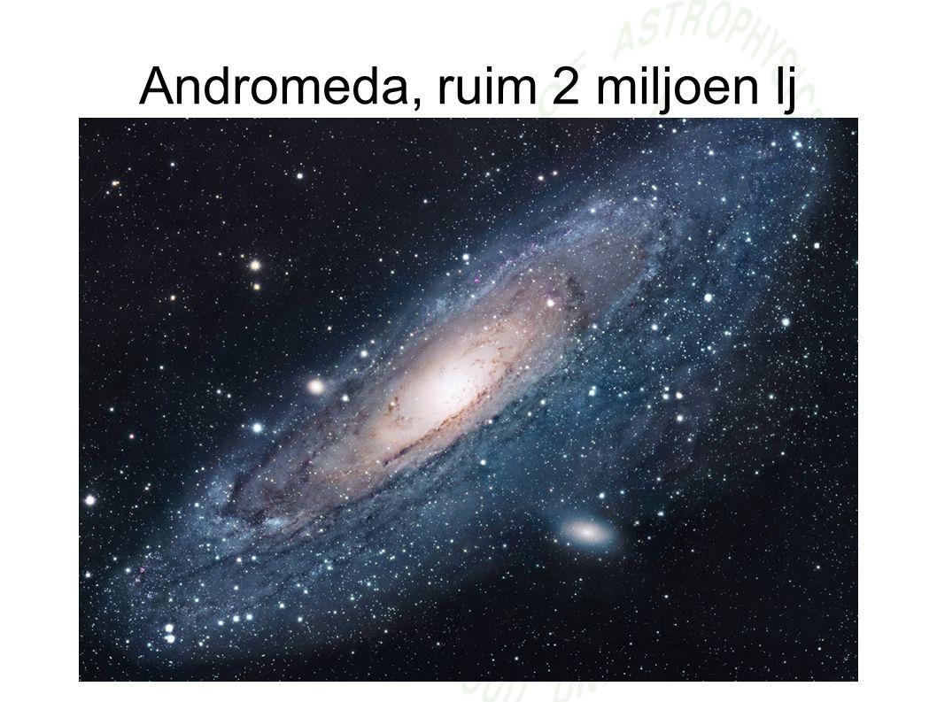Andromeda, ruim 2 miljoen lj