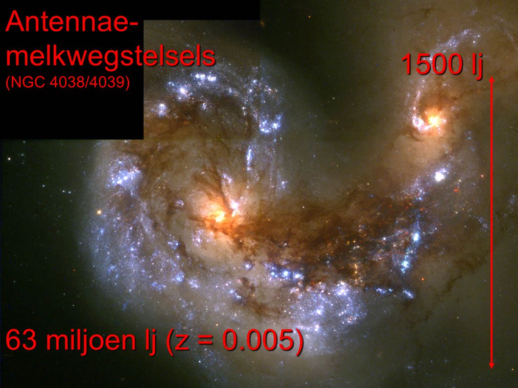 Antennae-melkwegstelsels (NGC 4038/4039)