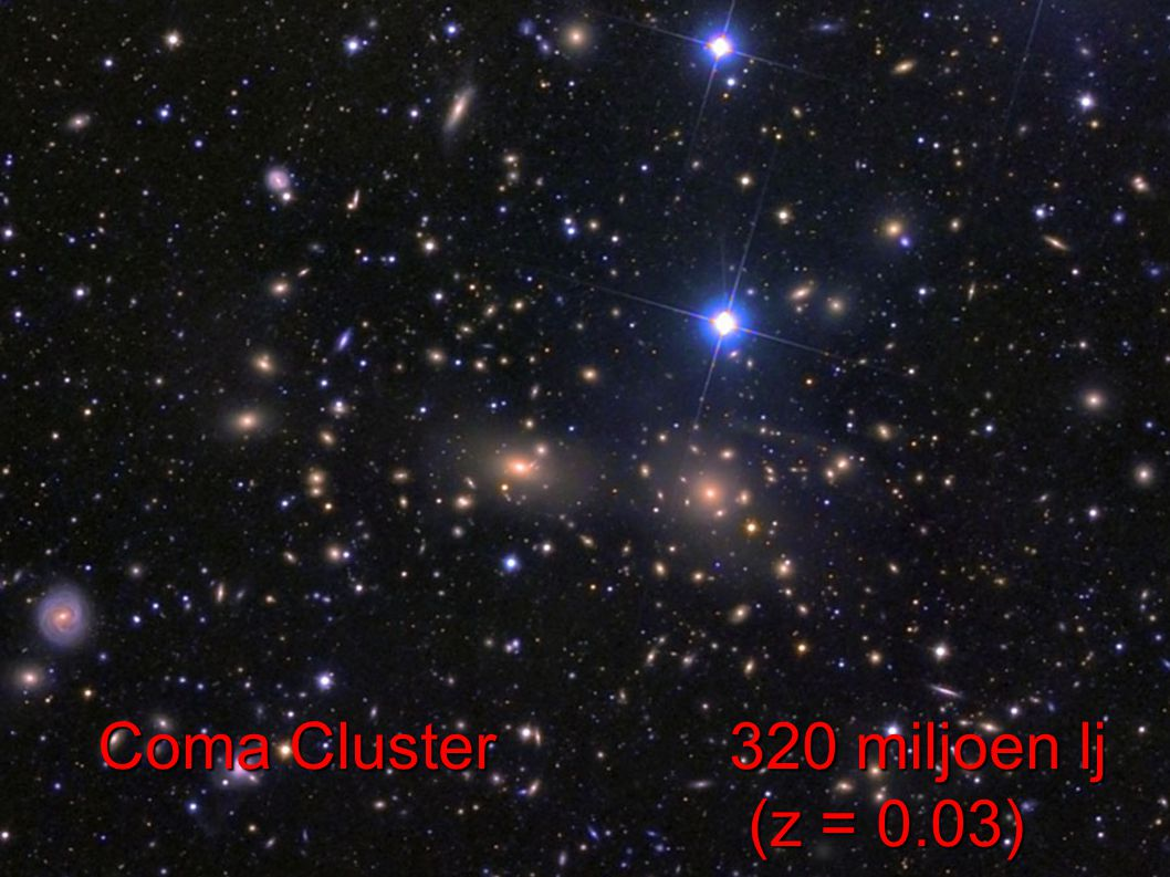 Coma Cluster 320 miljoen lj