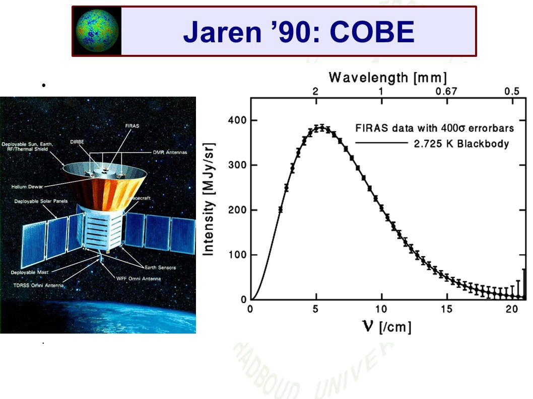 Jaren '90: COBE .
