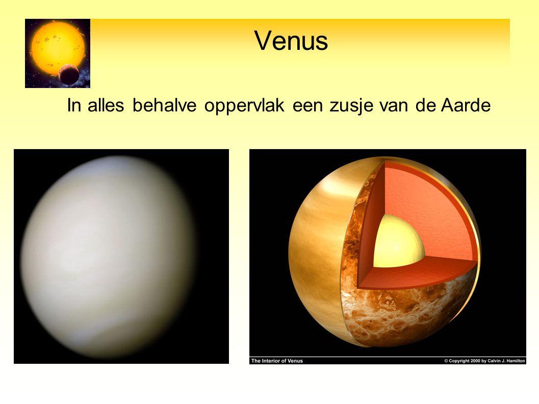 Venus In alles behalve oppervlak een zusje van de Aarde 10