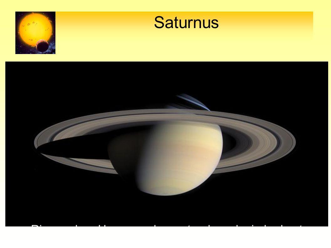 Saturnus Ringen door Huygens als eerste als zodanig herkent 27