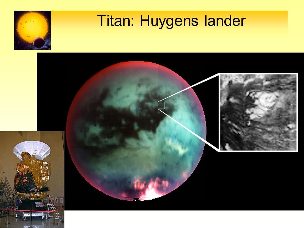 Titan: Huygens lander 31