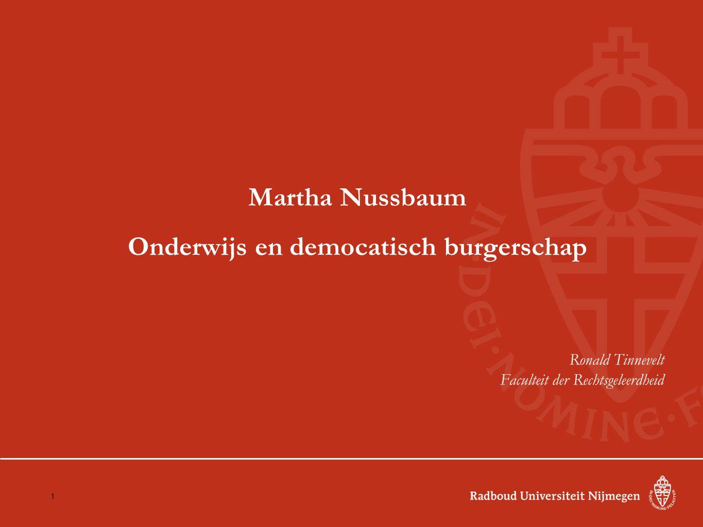 Onderwijs en democatisch burgerschap