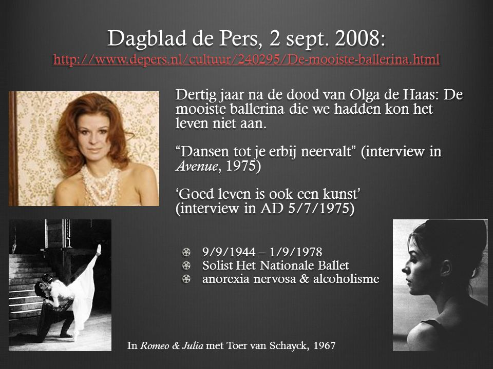 Dagblad de Pers, 2 sept. 2008: http://www. depers