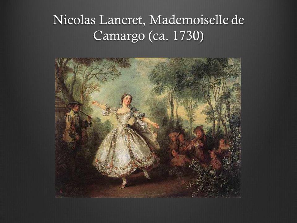 Nicolas Lancret, Mademoiselle de Camargo (ca. 1730)