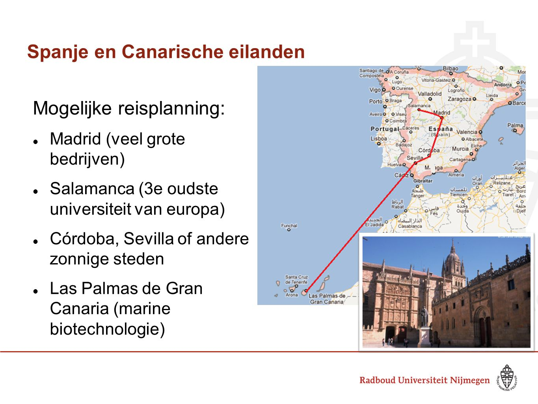 Spanje en Canarische eilanden