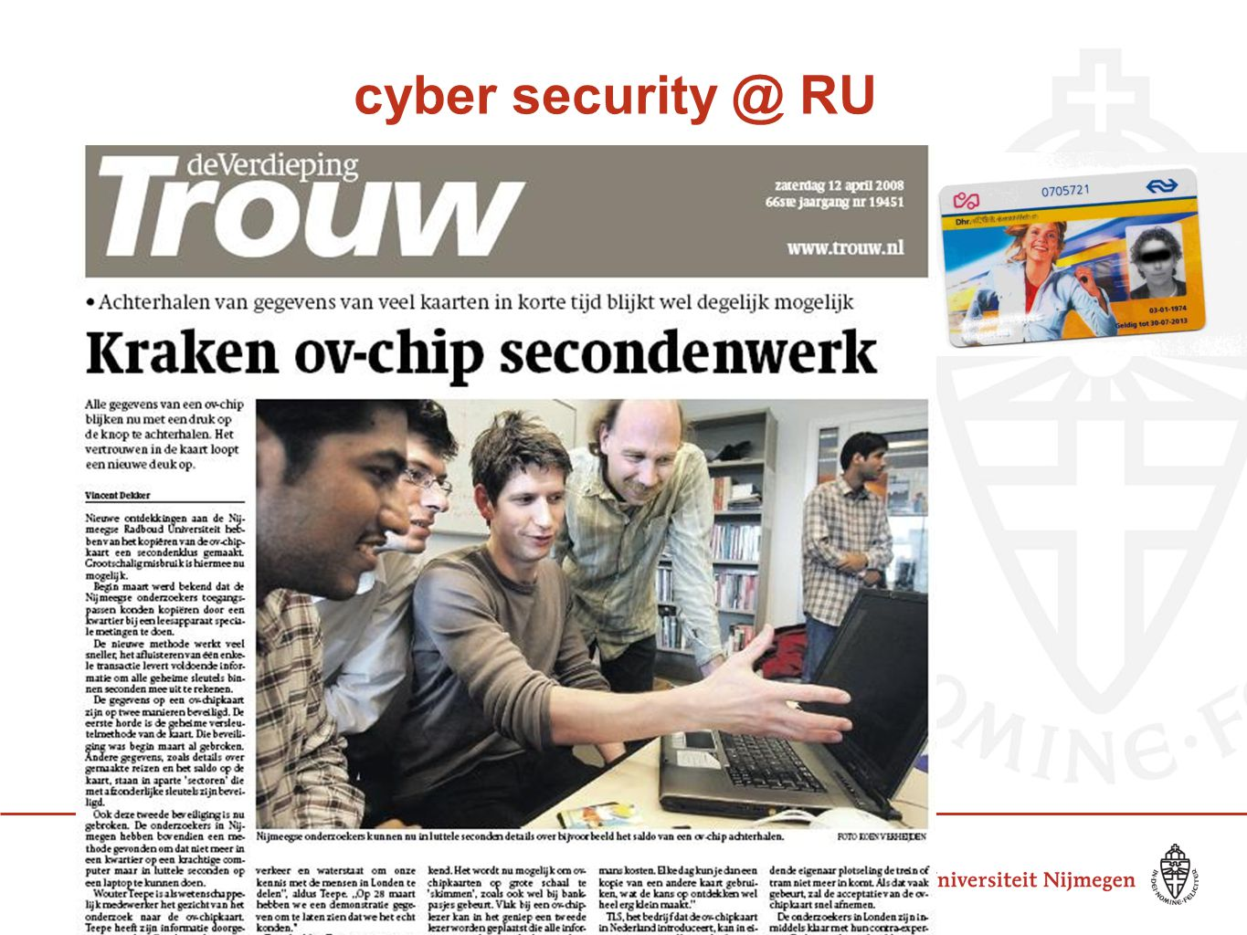 66 cyber security @ RU