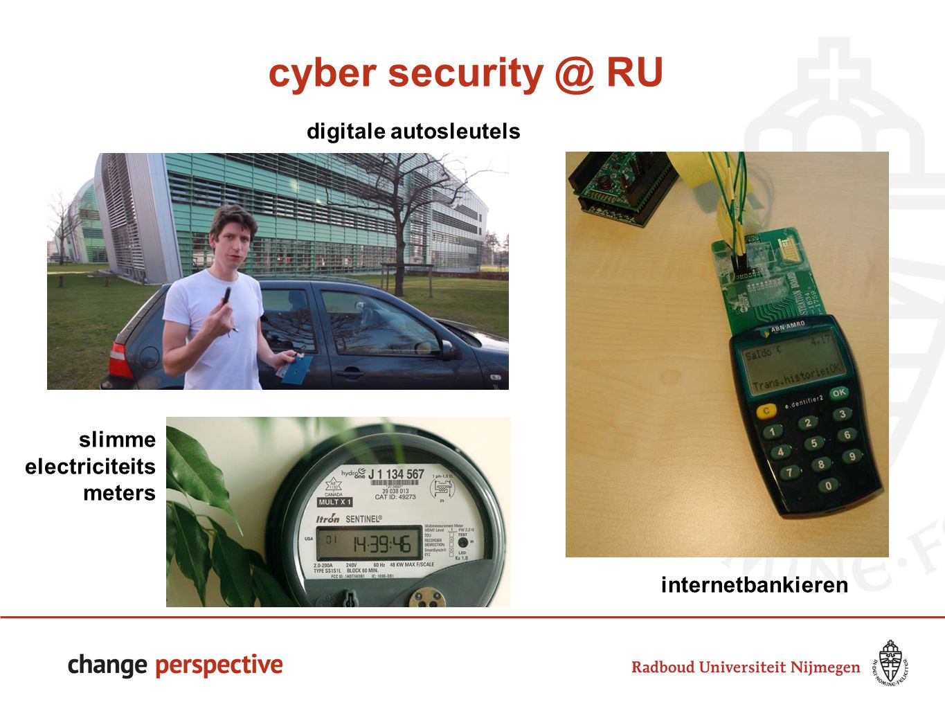 cyber security @ RU 77 digitale autosleutels slimme electriciteits