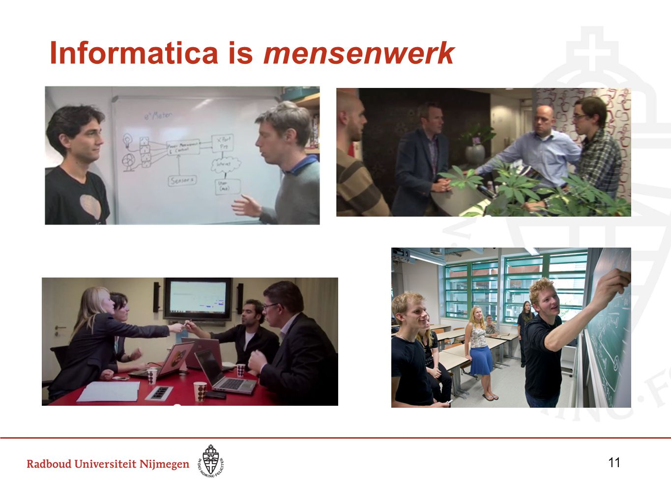 Informatica is mensenwerk