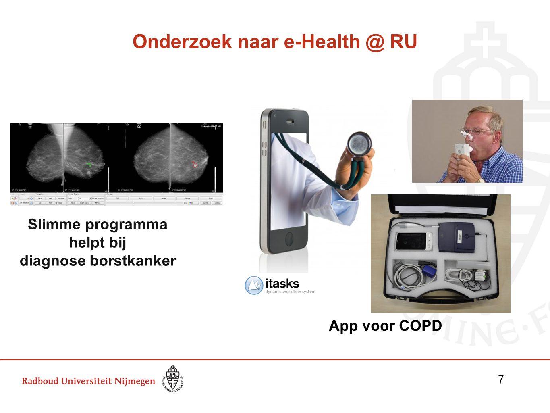 Onderzoek naar e-Health @ RU