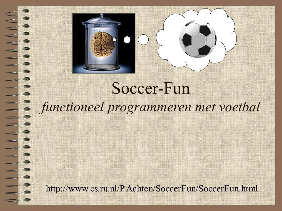 Soccer-Fun functioneel programmeren met voetbal