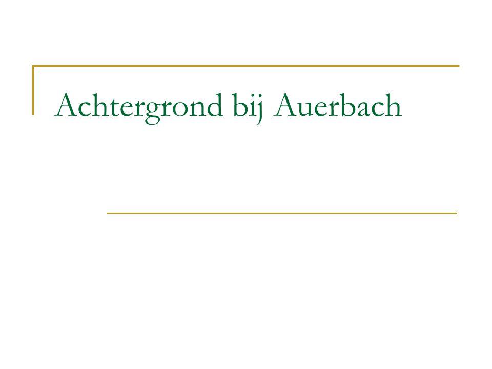 Achtergrond bij Auerbach