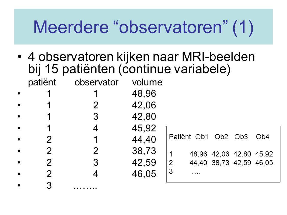 Meerdere observatoren (1)
