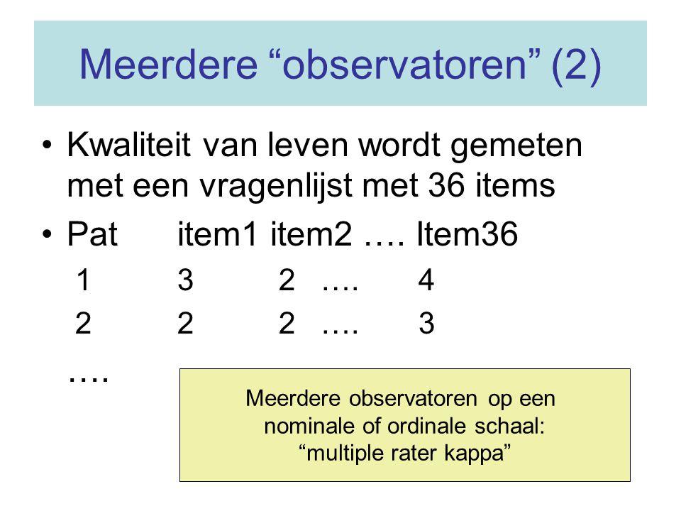 Meerdere observatoren (2)