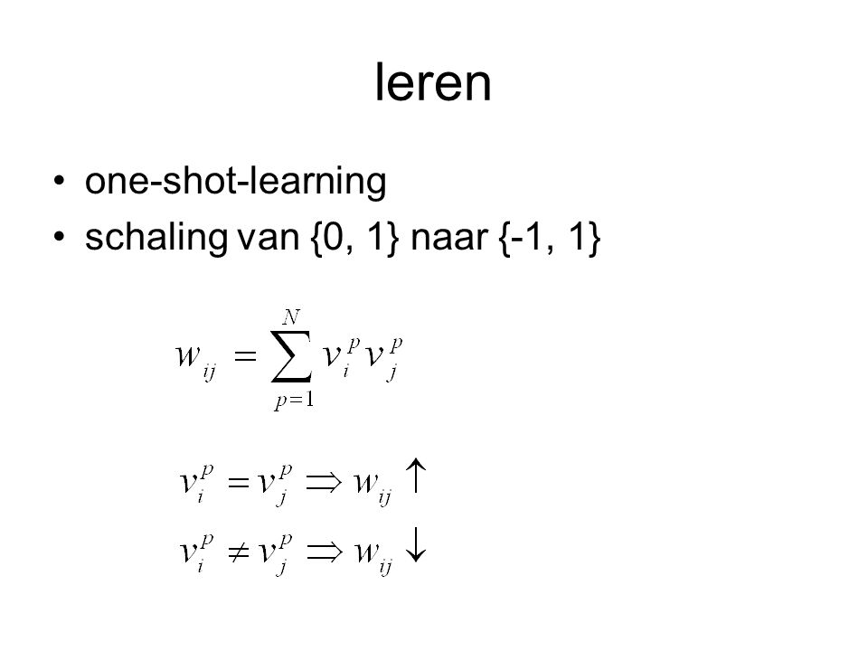 leren one-shot-learning schaling van {0, 1} naar {-1, 1} geen epochs