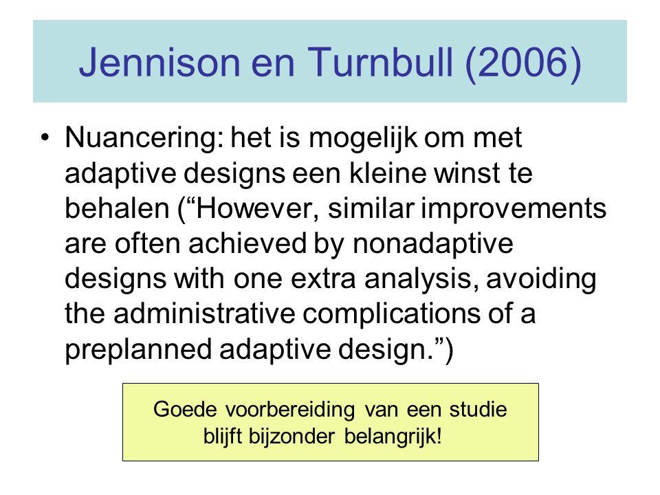 Jennison en Turnbull (2006)
