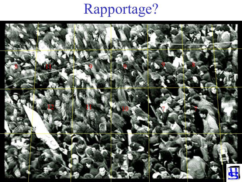 Rapportage 9 8 8 11 9 9 12 11 10 7 7