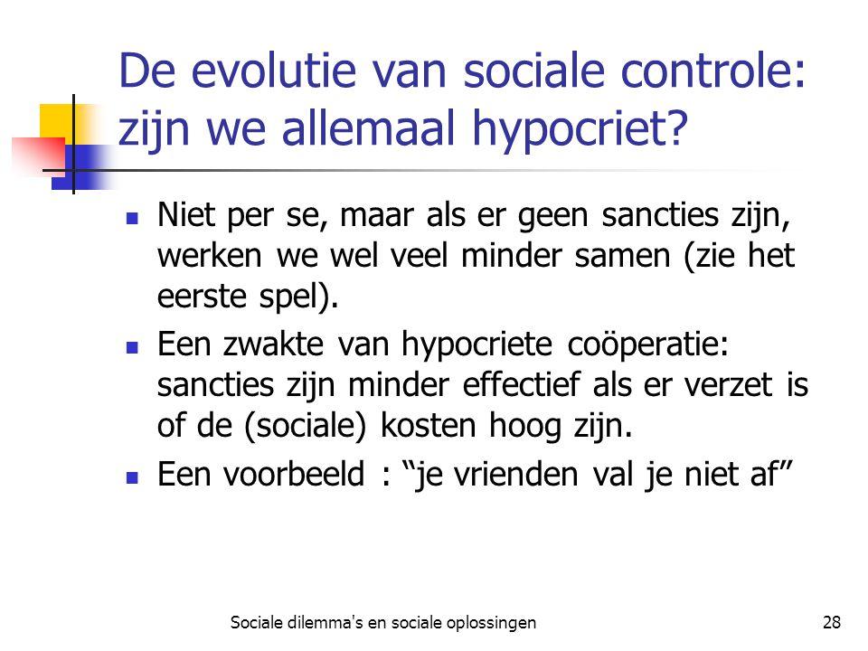 De evolutie van sociale controle: zijn we allemaal hypocriet
