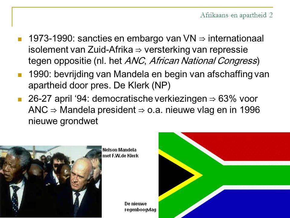 Afrikaans en apartheid 2