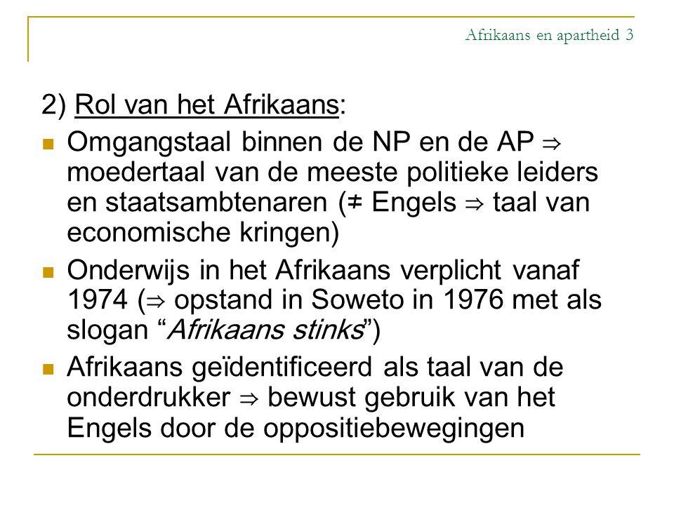 Afrikaans en apartheid 3