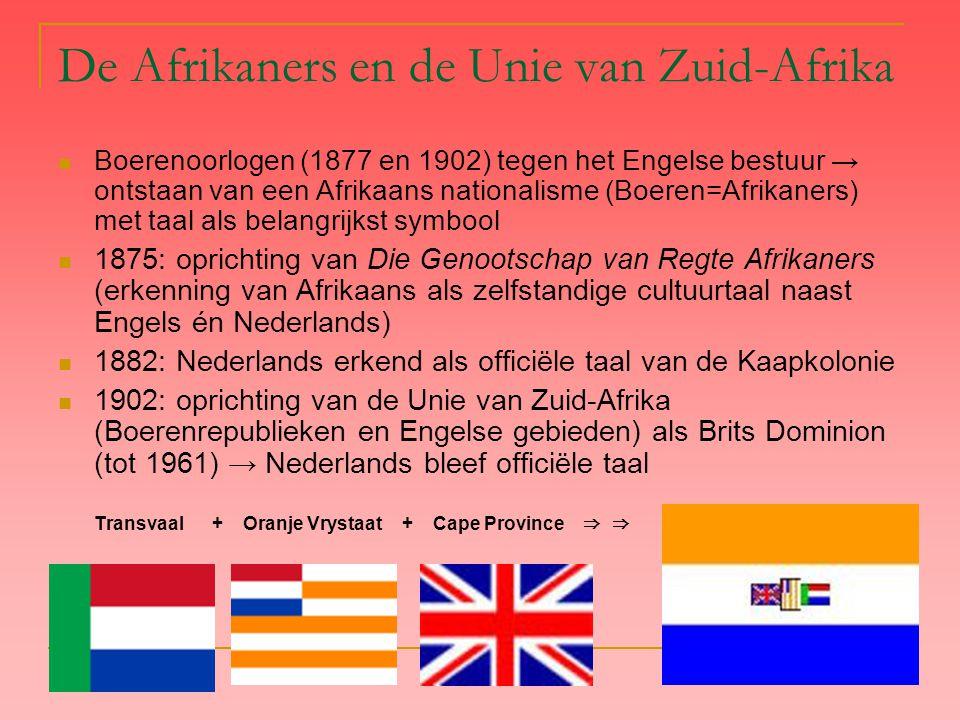 De Afrikaners en de Unie van Zuid-Afrika