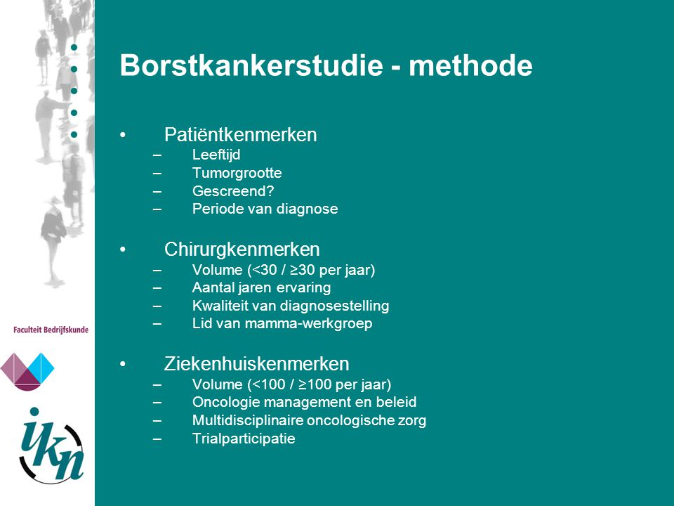 Borstkankerstudie - methode