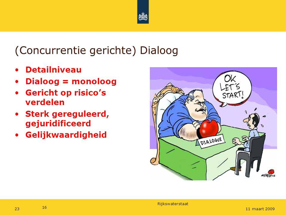 Dialoog (Concurrentie gerichte) Dialoog